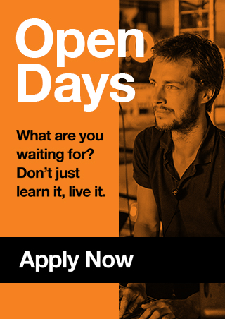 Open Days - Apply Now