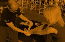 Backstage Academy first aid